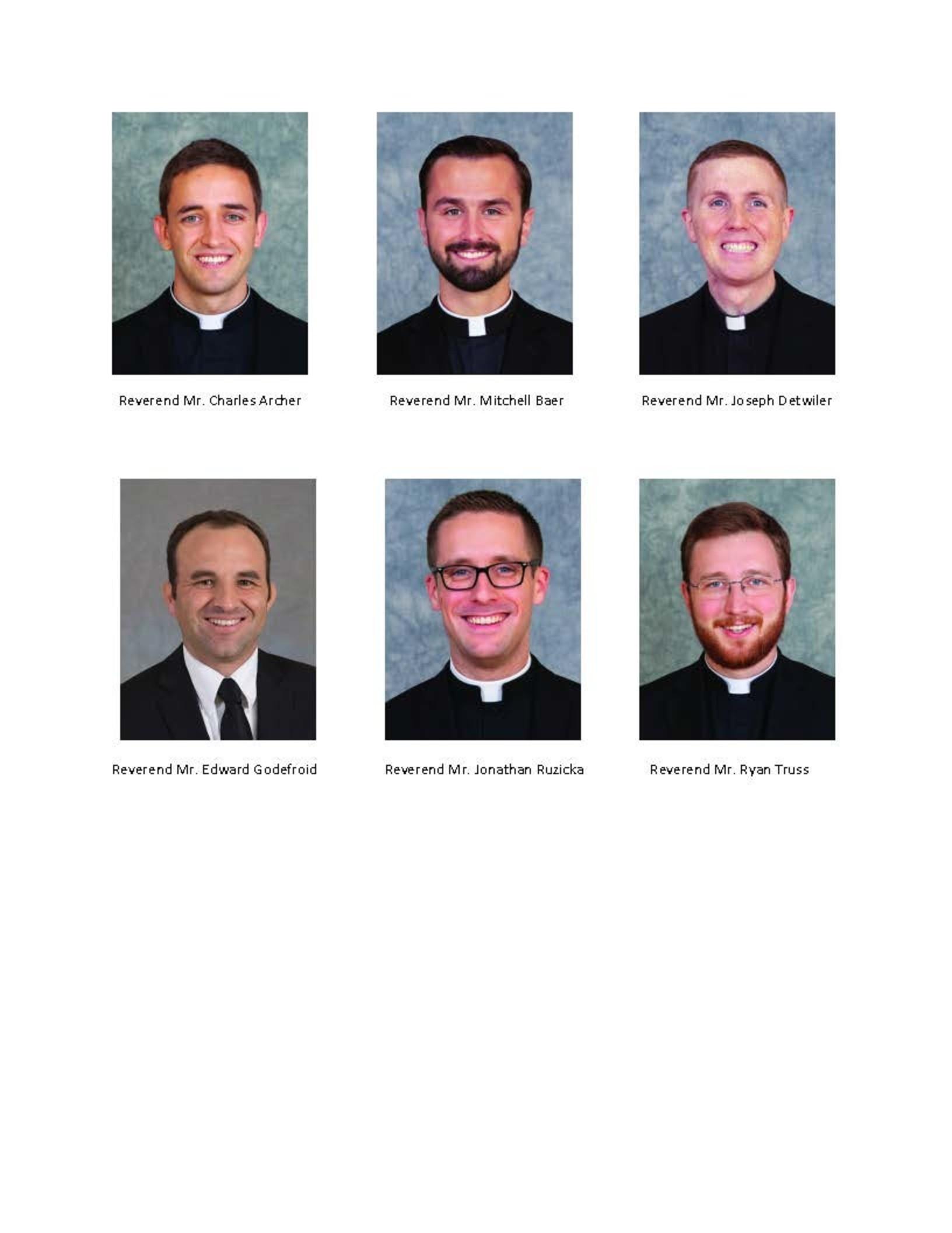 2021 Ordination Headshots Page 1