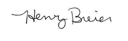 Breier Signature