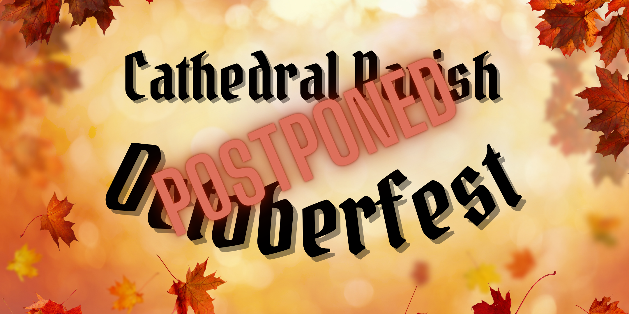 Oktoberfest Postponed Webcard