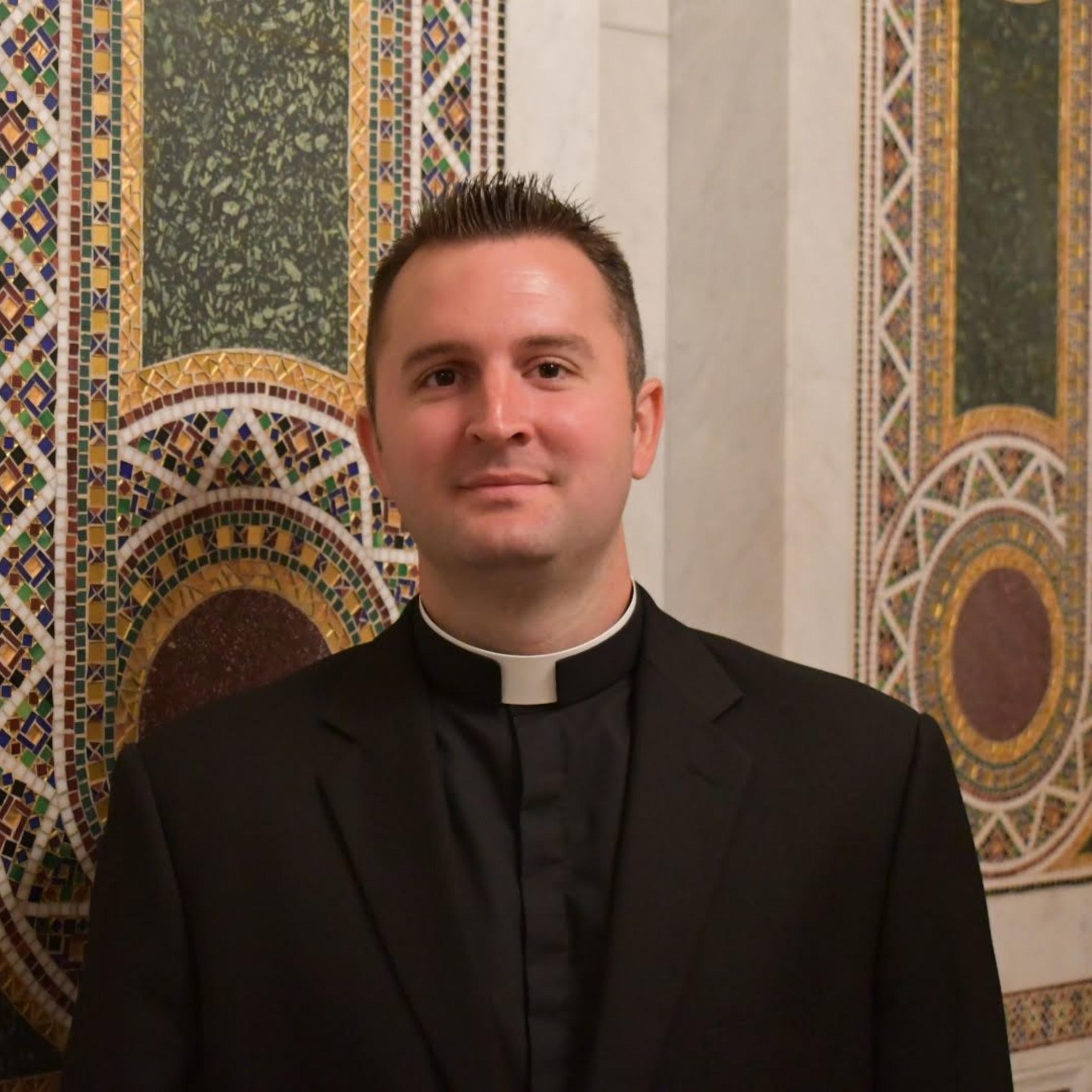 Fr. Zac Povis Parochial Vicar