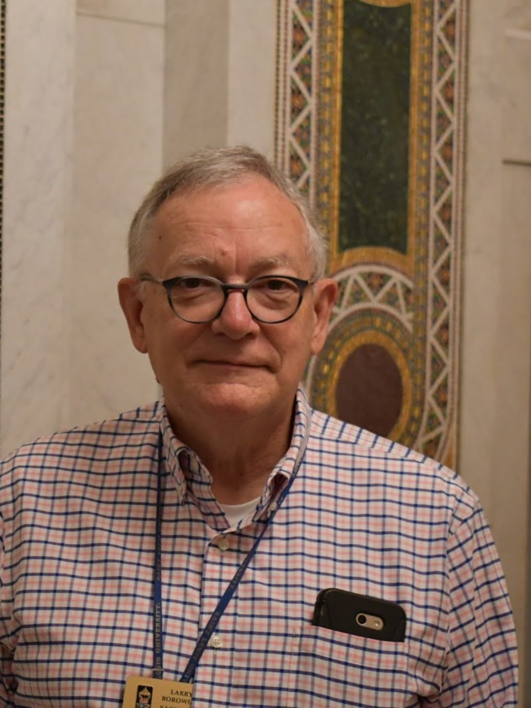 Larry Borowiak Sacristan 1
