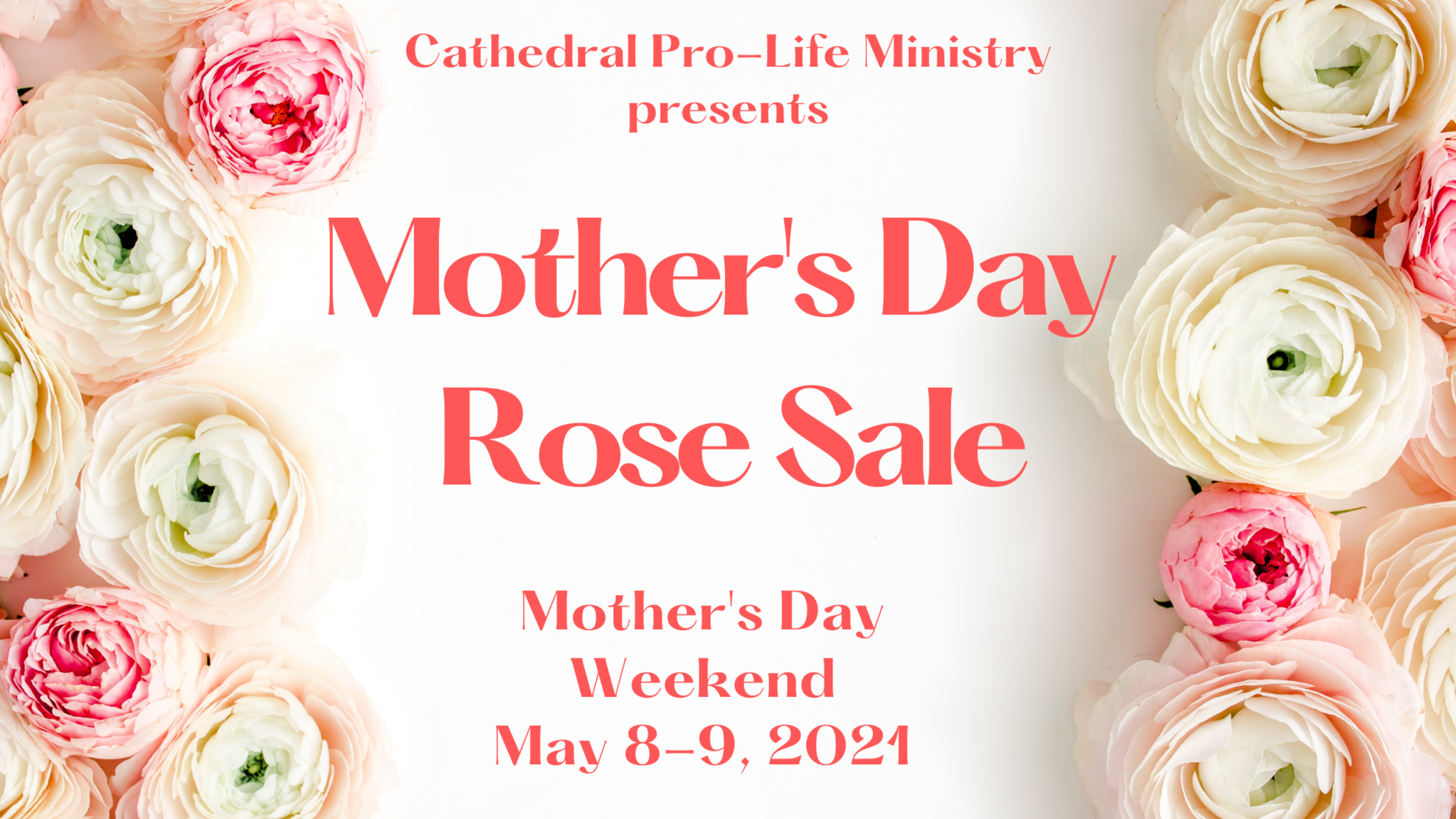 Mothers Day Rose Sale Webcard
